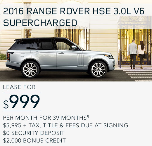 Special Offers And Financing At Land Rover Farmington