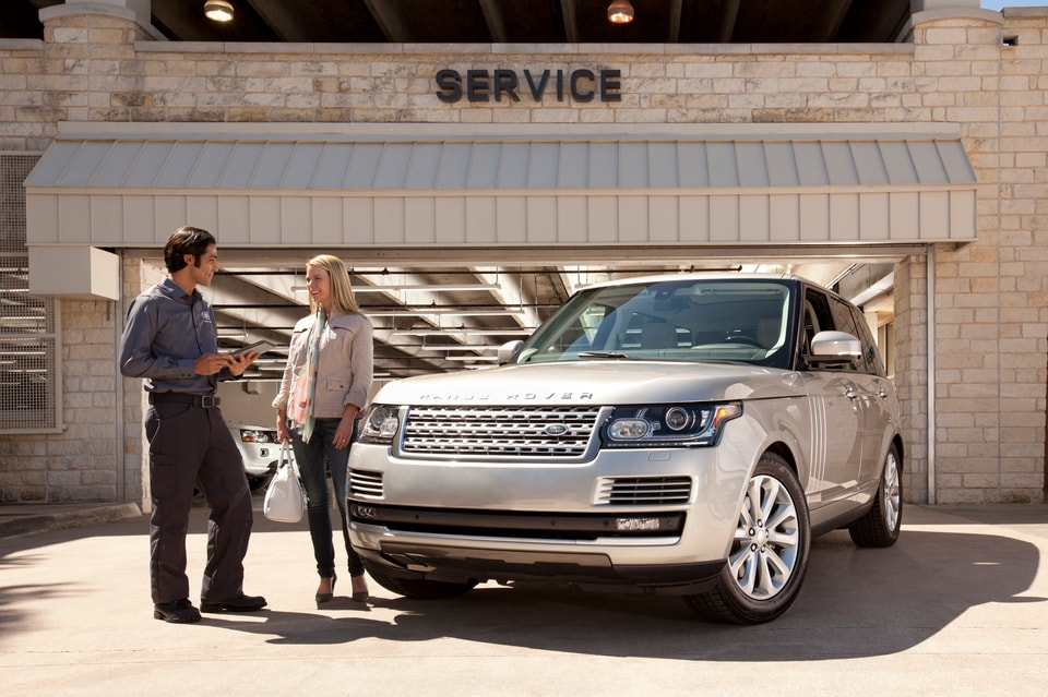 Free Land Rover Service Pickup Loaner Drop Off - Range rover maintenance schedule