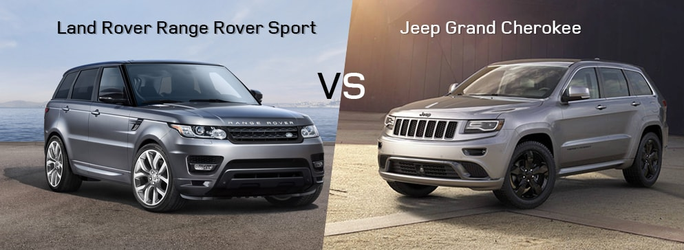 land rover range rover sport vs jeep grand cherokee greenville sc. Black Bedroom Furniture Sets. Home Design Ideas