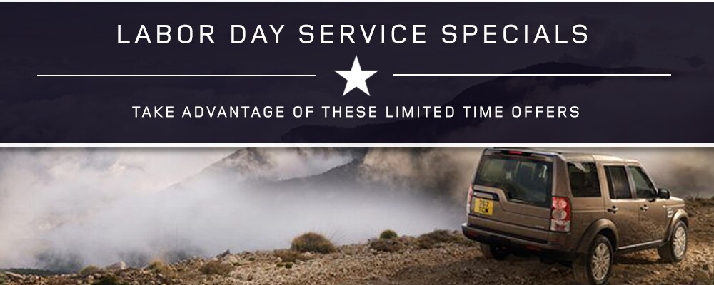 Land Rover Greenville Labor Day Offers
