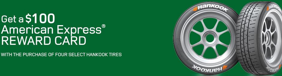 Land Rover Hankook Tire Rebates