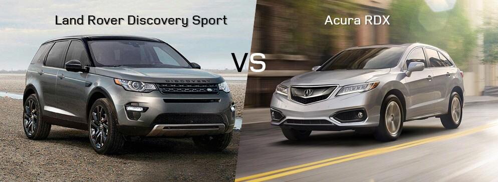 Land Rover Discovery Sport VS Acura RDX