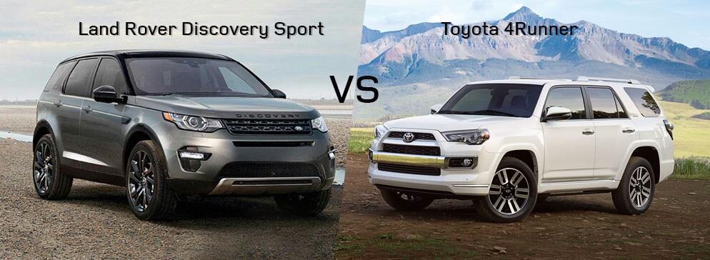 Land Rover Discovery Sport VS Toyota 4Runner