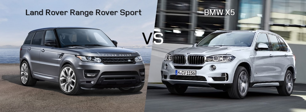 Land Rover Range Rover Sport VS BMW X5
