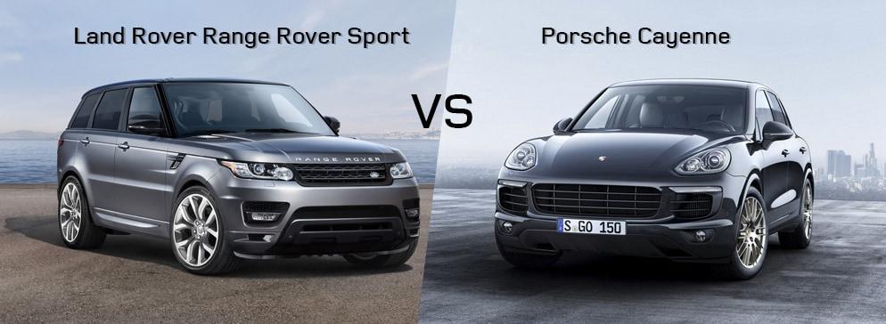 Land Rover Range Rover Sport VS Porsche Cayenne