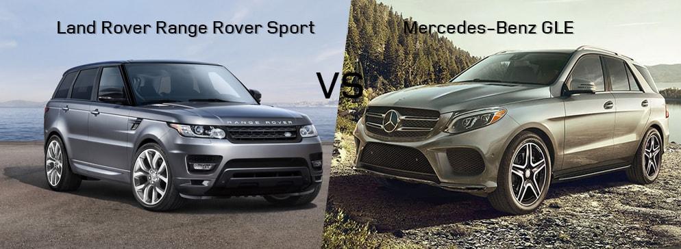 Land Rover Range Rover Sport VS Mercedes-Benz GLE Class