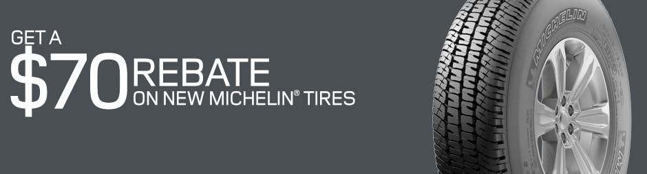 Michelin Tire Rebates