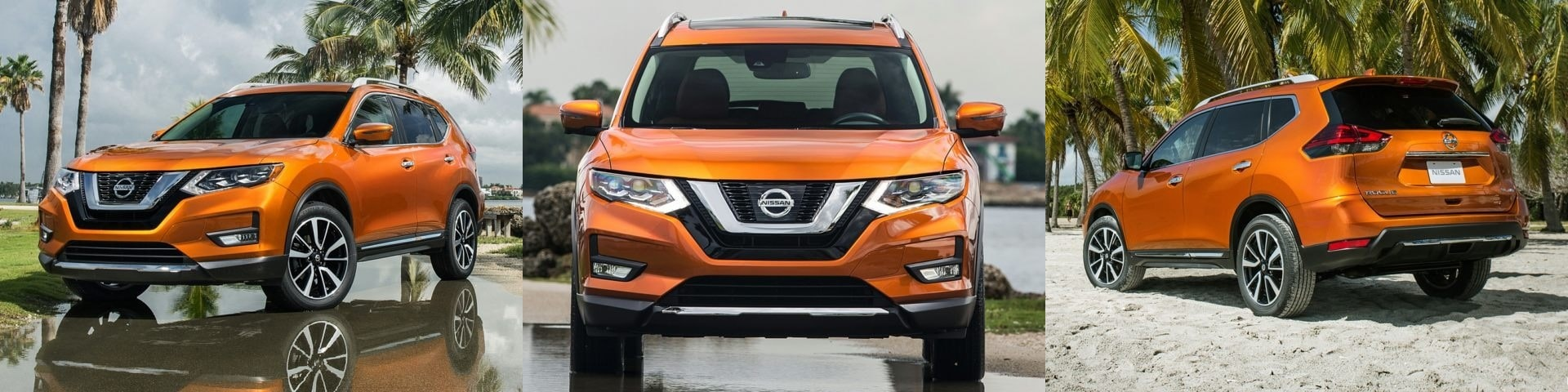 How does the nissan rogue stack up against the competition