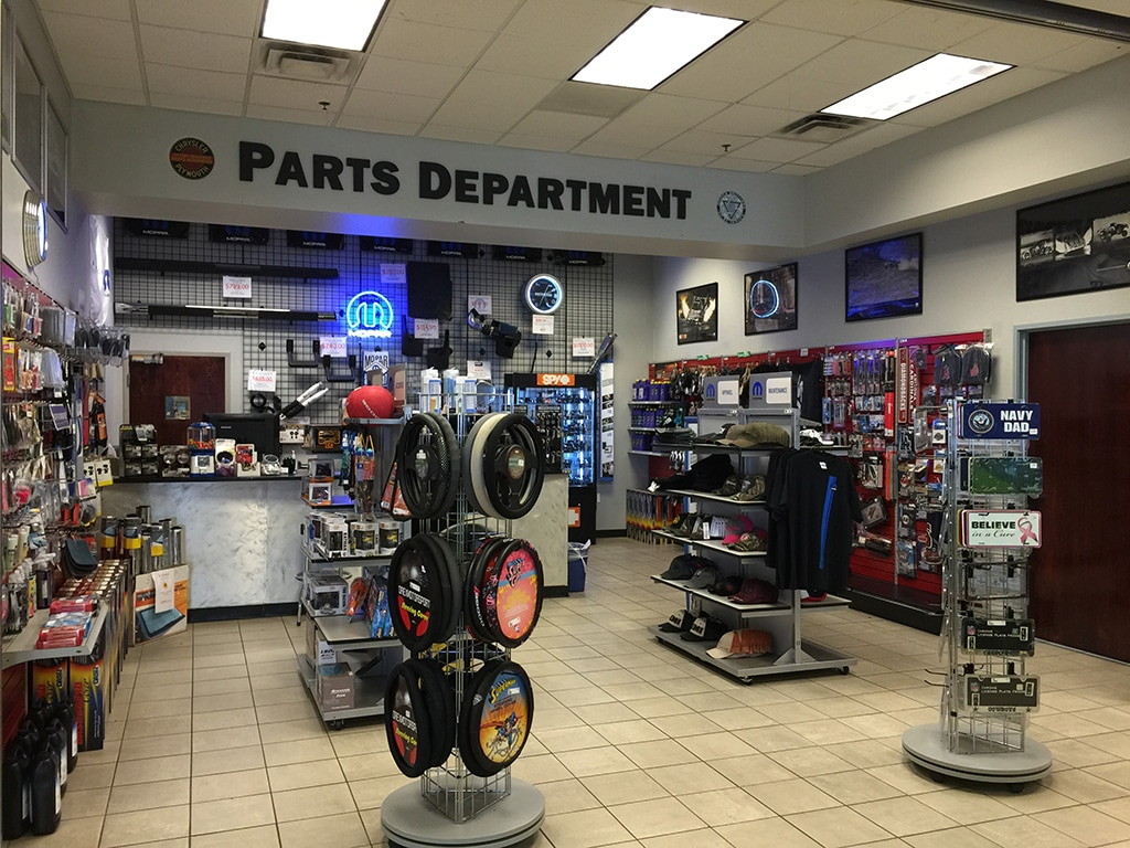 Parts Showroom Avondale