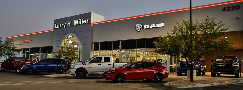 About Larry H. Miller Dodge Ram Tucson | New and Used Car ...