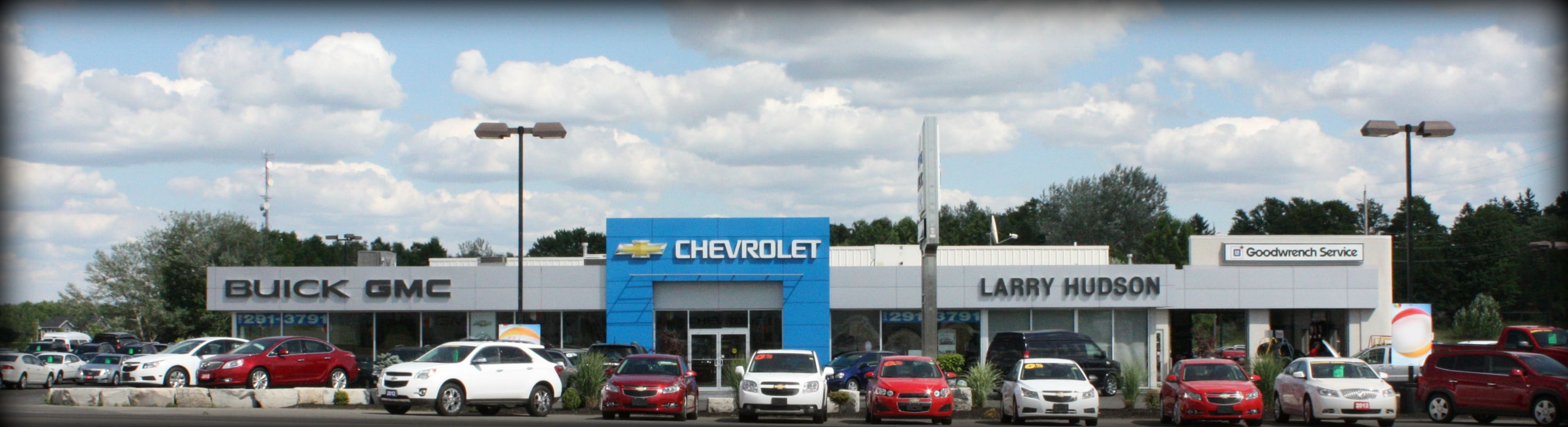 Welcome To Larry Hudson Chevrolet Buick Gmc
