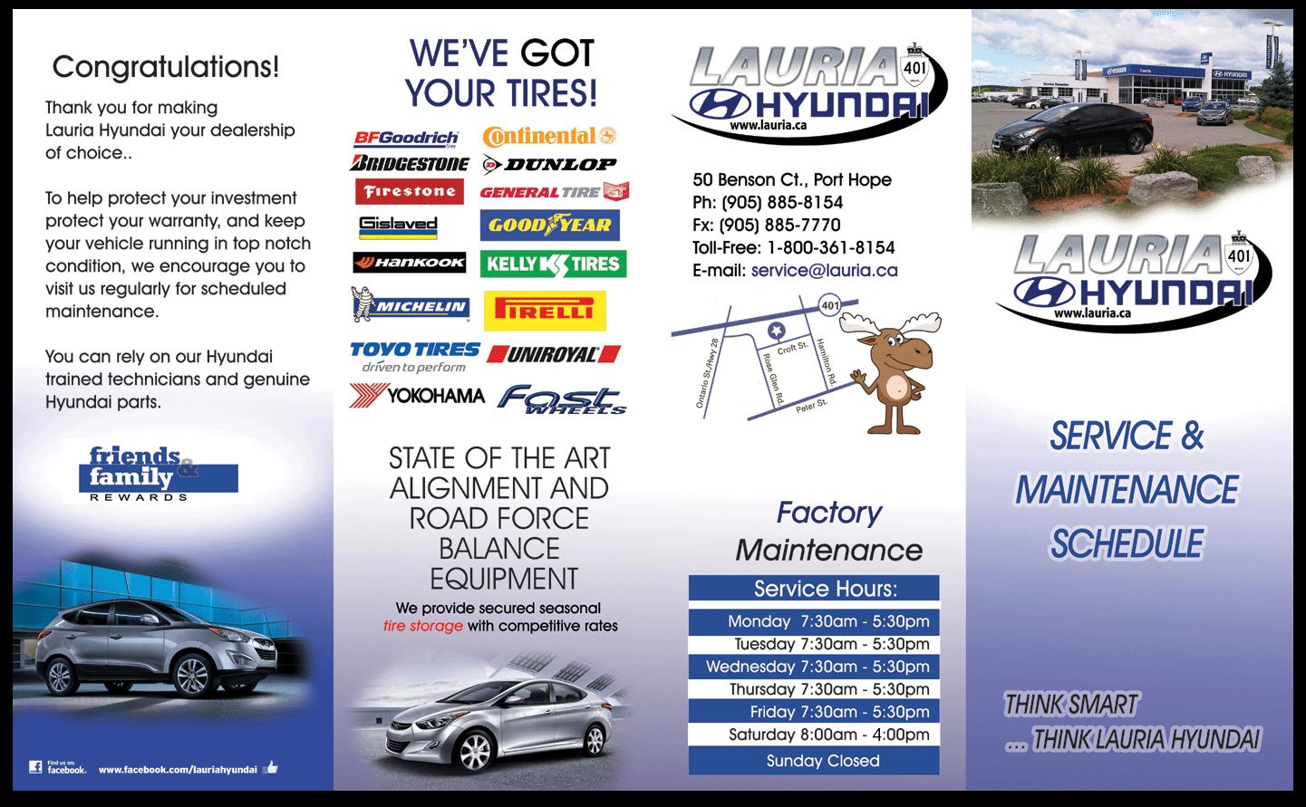 Hyundai Maintenance Schedule Recommended Service Maintenance Calendar L Lauria Hyundai L Port