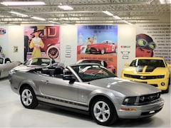 2008 Ford Mustang Pony Pkg, Leather Convertible