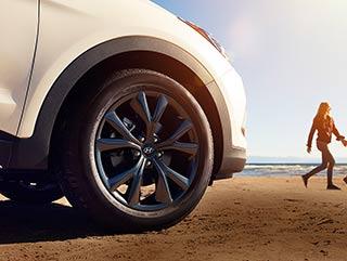 2017 Hyundai Santa Fe Sport Wheels