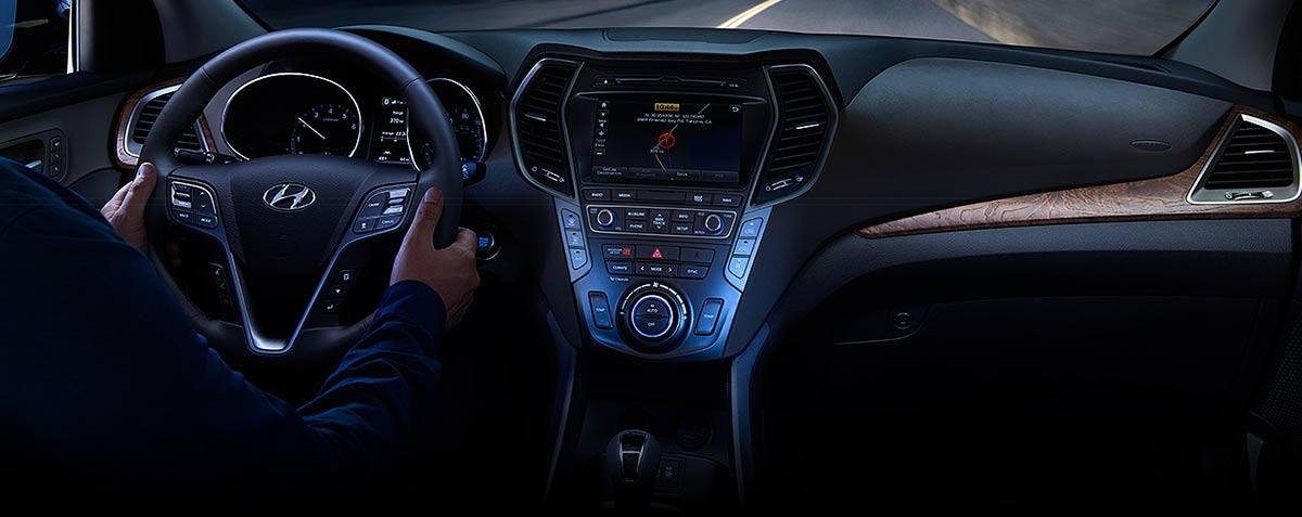 2017 Hyundai Santa Fe Sport Interior Technology, Miami FL
