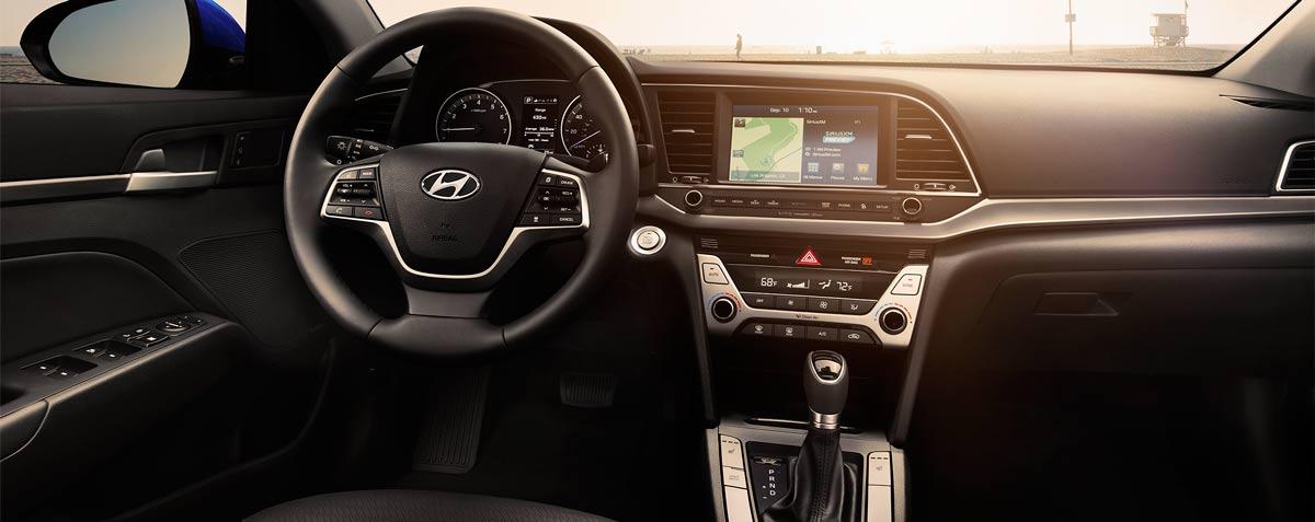2017 Hyundai Elantra Interior, Miami FL