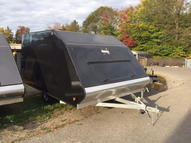 2018 Mission Trailers Remorque Mission Crossover 8.5 x 12 100% aluminium