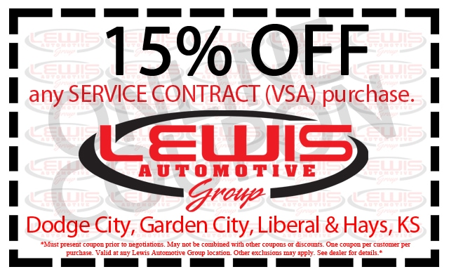 Vehicle Service Contract In Dodge City Garden City Liberal And Hays Ks