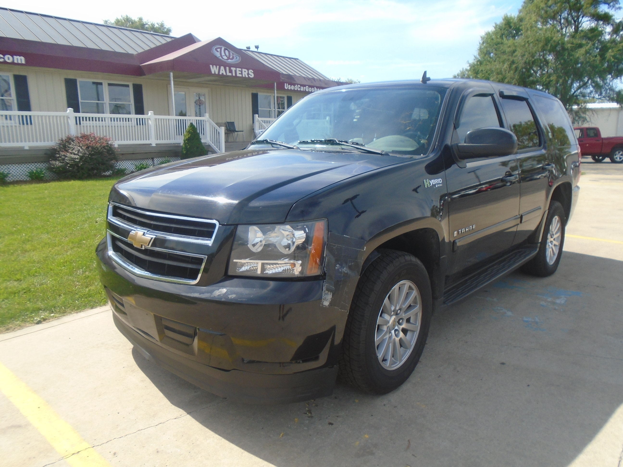 used 2008 chevrolet tahoe hybrid for sale goshen in elkhart south bend fort wayne indiana. Black Bedroom Furniture Sets. Home Design Ideas