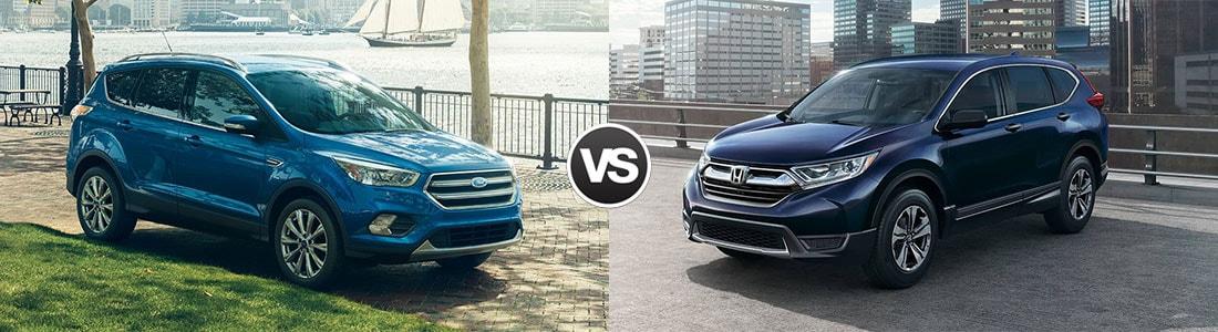 2017 Ford Escape vs 2017 Honda CR-V
