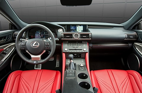 Lexus RC F Inside
