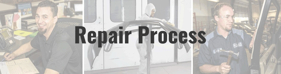 Larry H. Miller Auto Body Repair Process