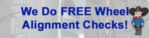 Free Wheel Alignment Check Ford Lehi