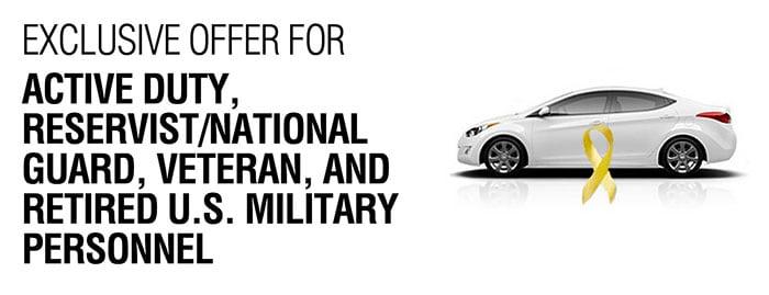 Hyundai Military Rebate at Southwest Hyundai  Albuquerque