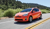 Colorado Springs Toyota Prius in the color orange for Sale at Liberty Toyota