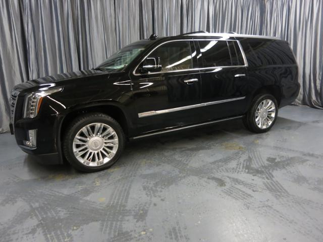 New Cadillac Escalade Esv Suv Platinum Black Raven For Sale