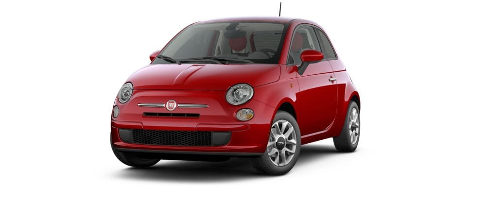 2017 FIAT 500 Pop Red Front Exterior