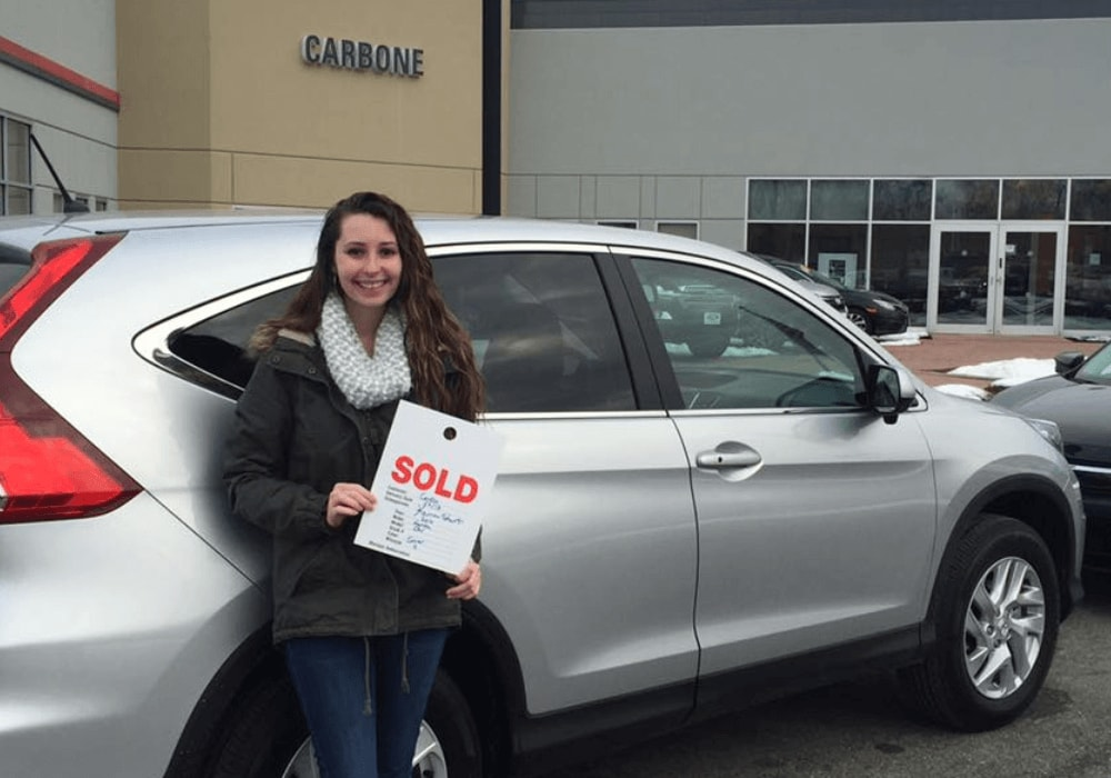 Carbone Honda Bennington - Honda Customer 1