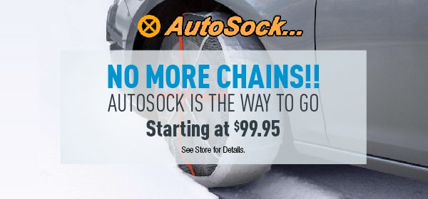 No More Chains! AutoSock is the way to go!