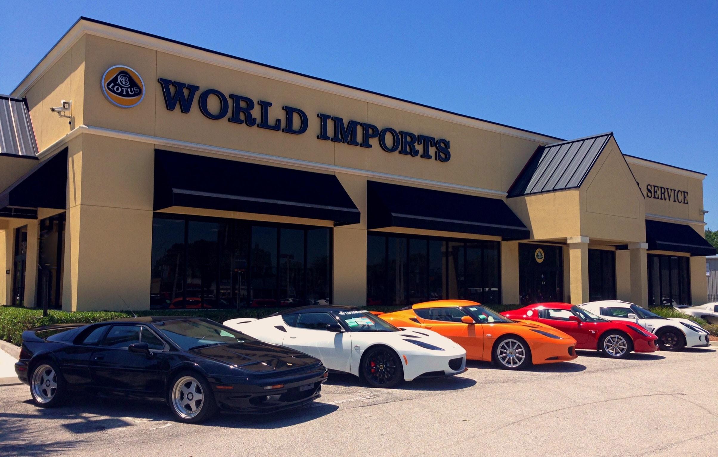 world imports usa new lotus dealership in jacksonville autos post. Black Bedroom Furniture Sets. Home Design Ideas