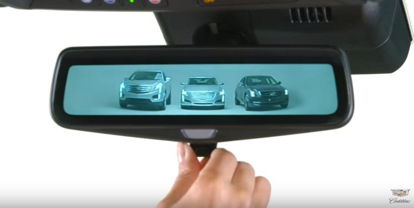 Cadillac Rear Camera Mirror