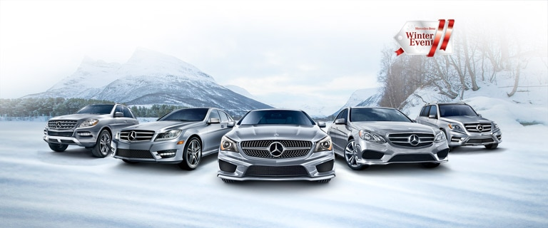 Luxury auto mall of sioux falls kick off the season of for Mercedes benz winter event