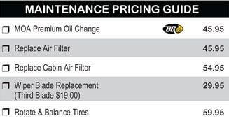 Maintenance Pricing Guide