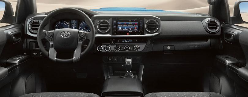 2017 Toyota Tacoma Interior