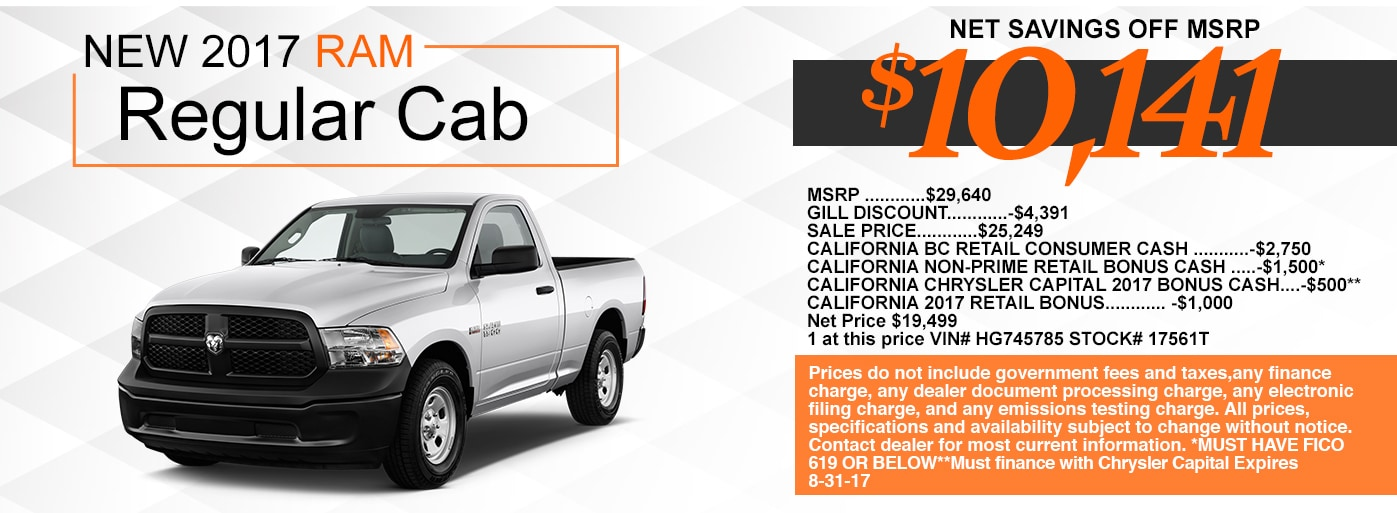 Gill Auto Group Madera >> Gill Chrysler Dodge Jeep RAM: New & Used Cars | Madera, CA