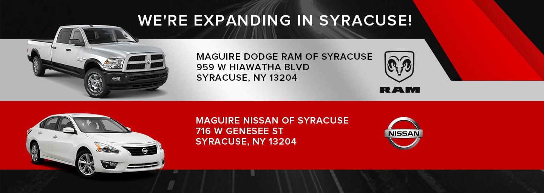 Maguire Dodge Ram Dealership In Syracuse Ny 2018 Dodge