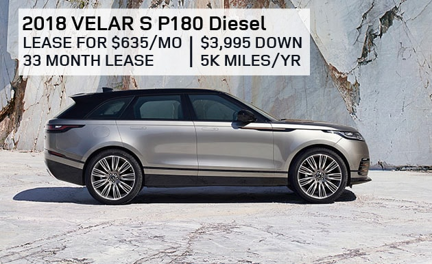 2018 Range Rover Velar S P180 - Special for October 2017 at Land Rover Hanover & Land Rover Cape Cod