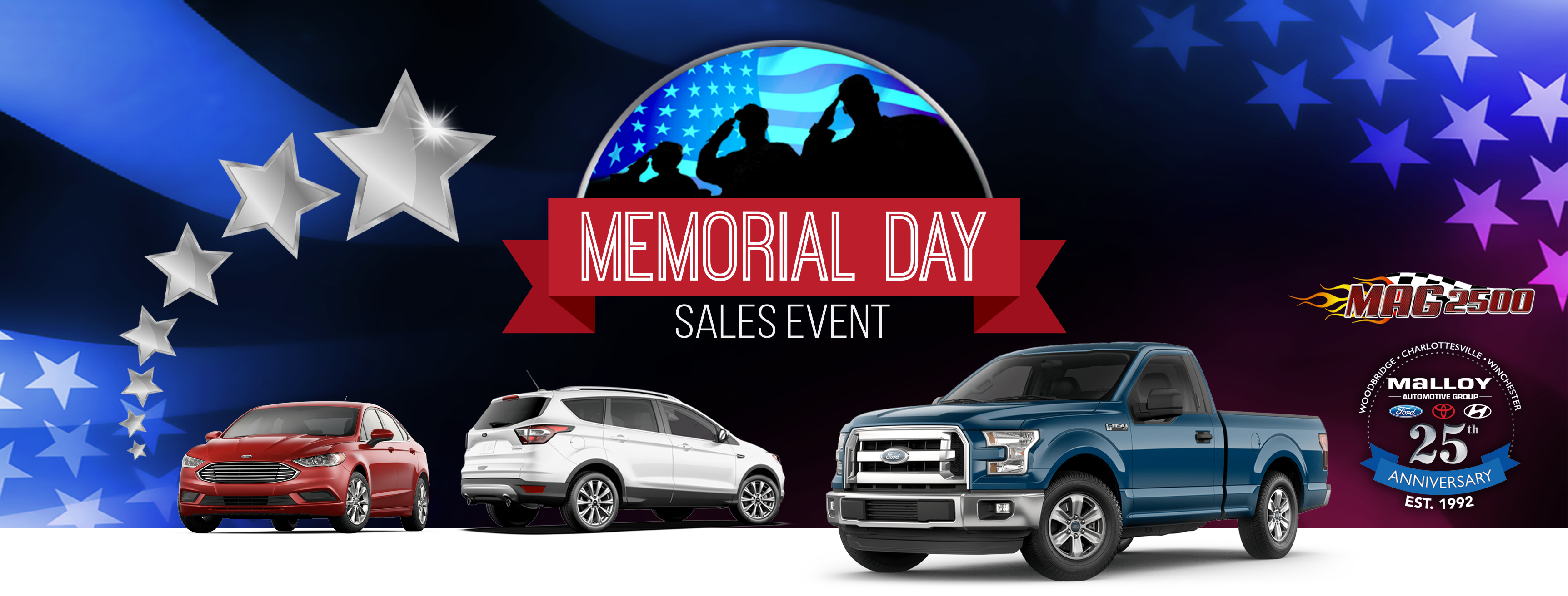 Memorial Day Sales Event Malloy Ford