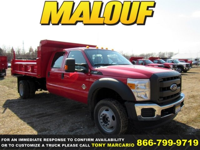 2016 Ford F-550 Chassis Truck Crew Cab