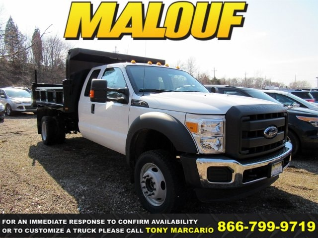 2016 Ford F-550 Chassis XLT Truck Super Cab