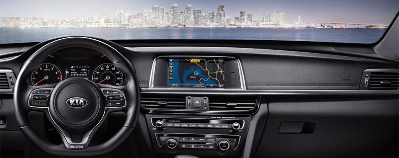 2017 Kia Optima Interior Dash