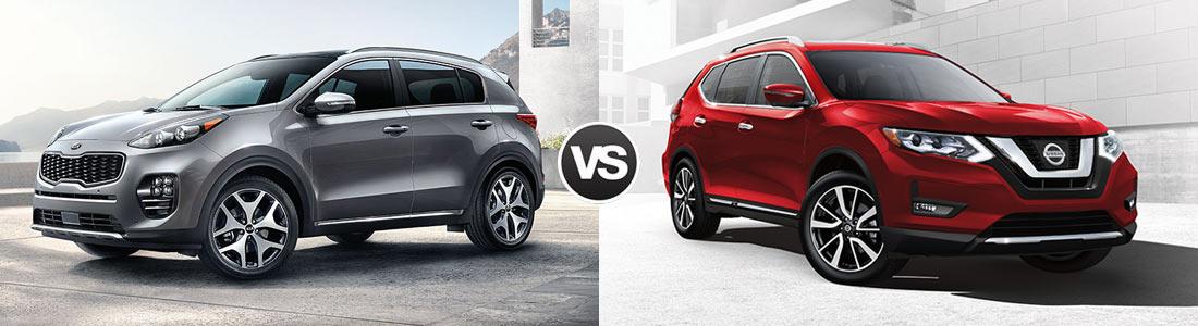 2017 Kia Sportage vs 2017 Nissan Rogue