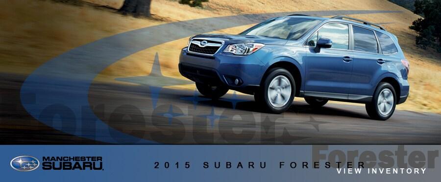 2015 Subaru Forester vs Competitors