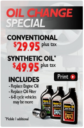 Oil change coupons mn