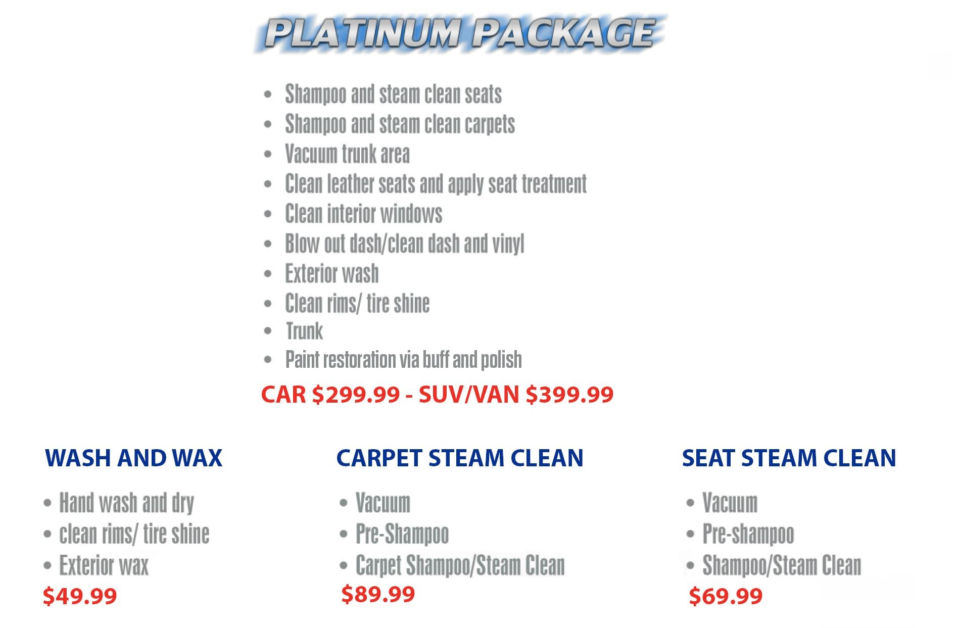 car wash detailing ottawa platinum
