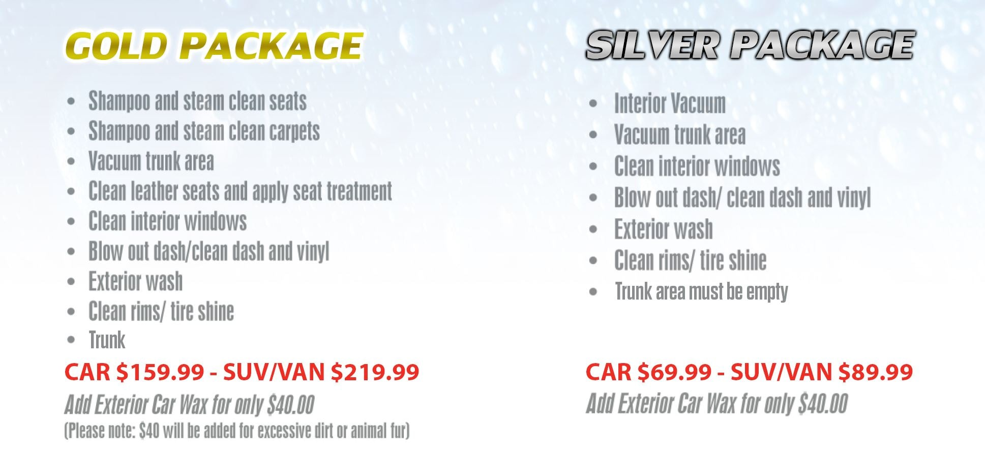 car wash detailing ottawa gold